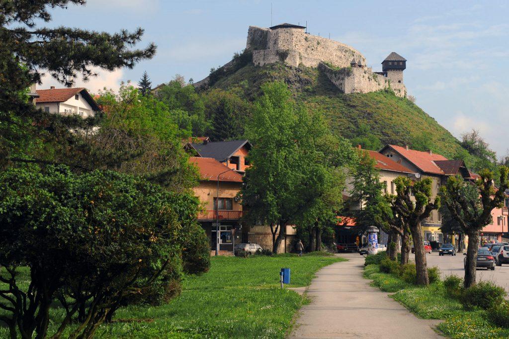 Средњевијековна тврђава Градина у Добоју.
