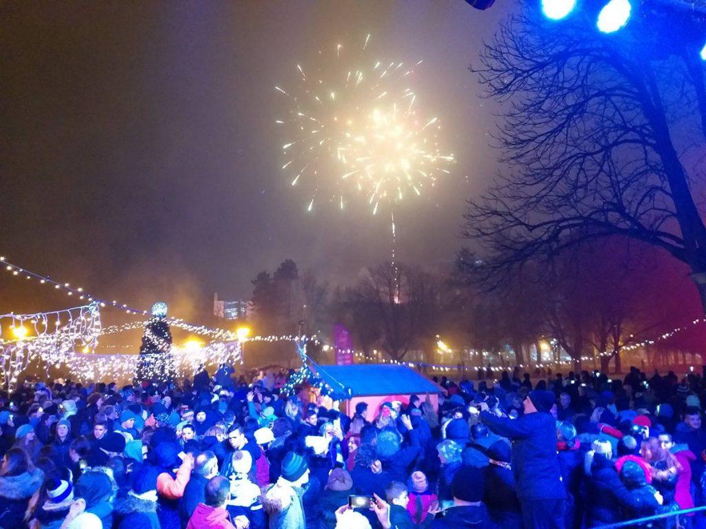 Vatromet za pravoslavnu Novu godinu.