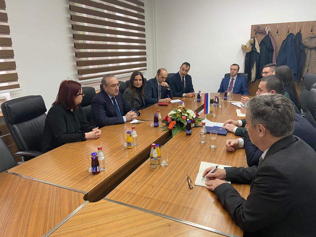 Delegacije grada Doboja i turske ambasade.