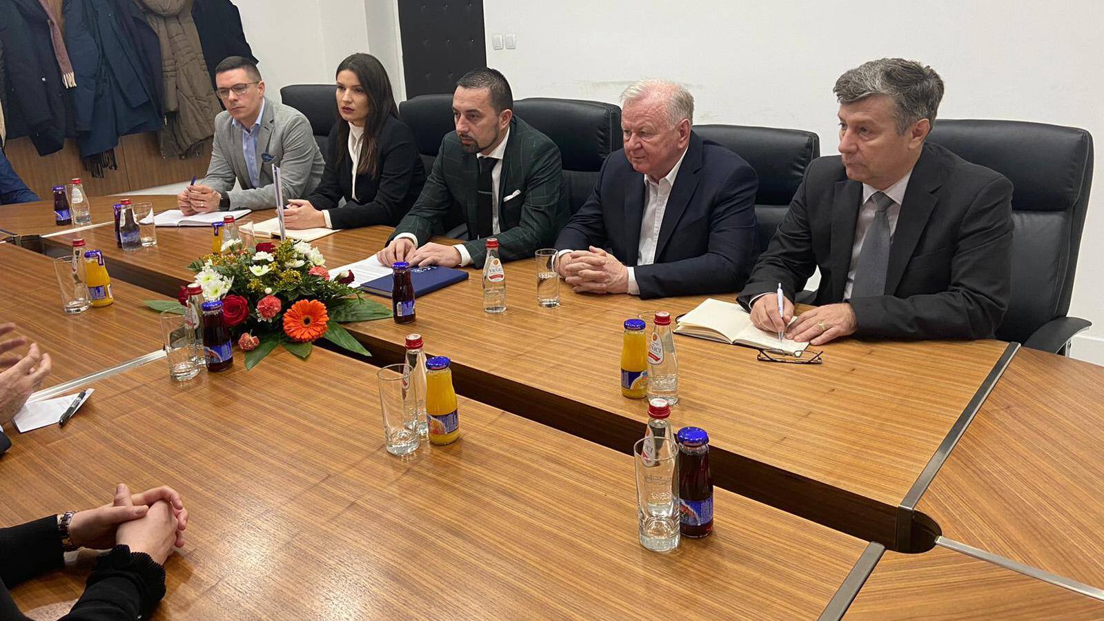 Sastanak sa ambasadorom Turske u BiH.