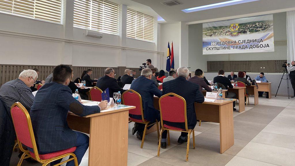 27. sjednica Skupštine grada Doboja