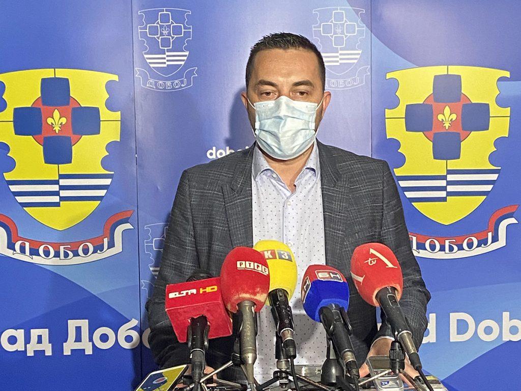 Gradonačelnik Doboja Boris Jerinić.