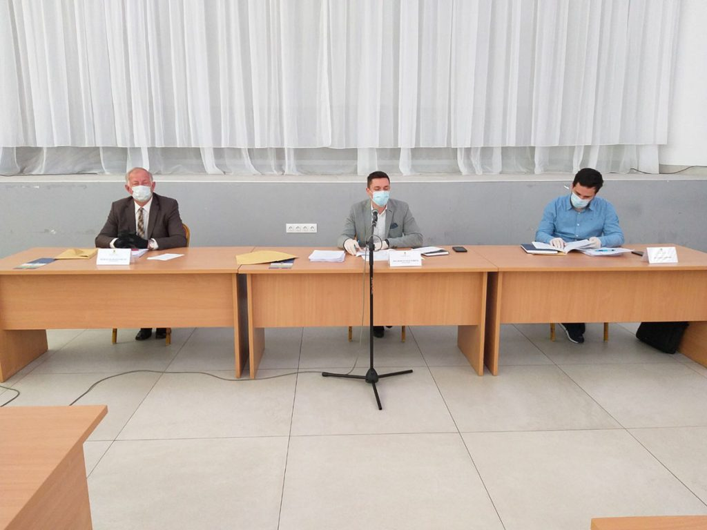Prva vanredna sjednica Skupštine grada Doboja.