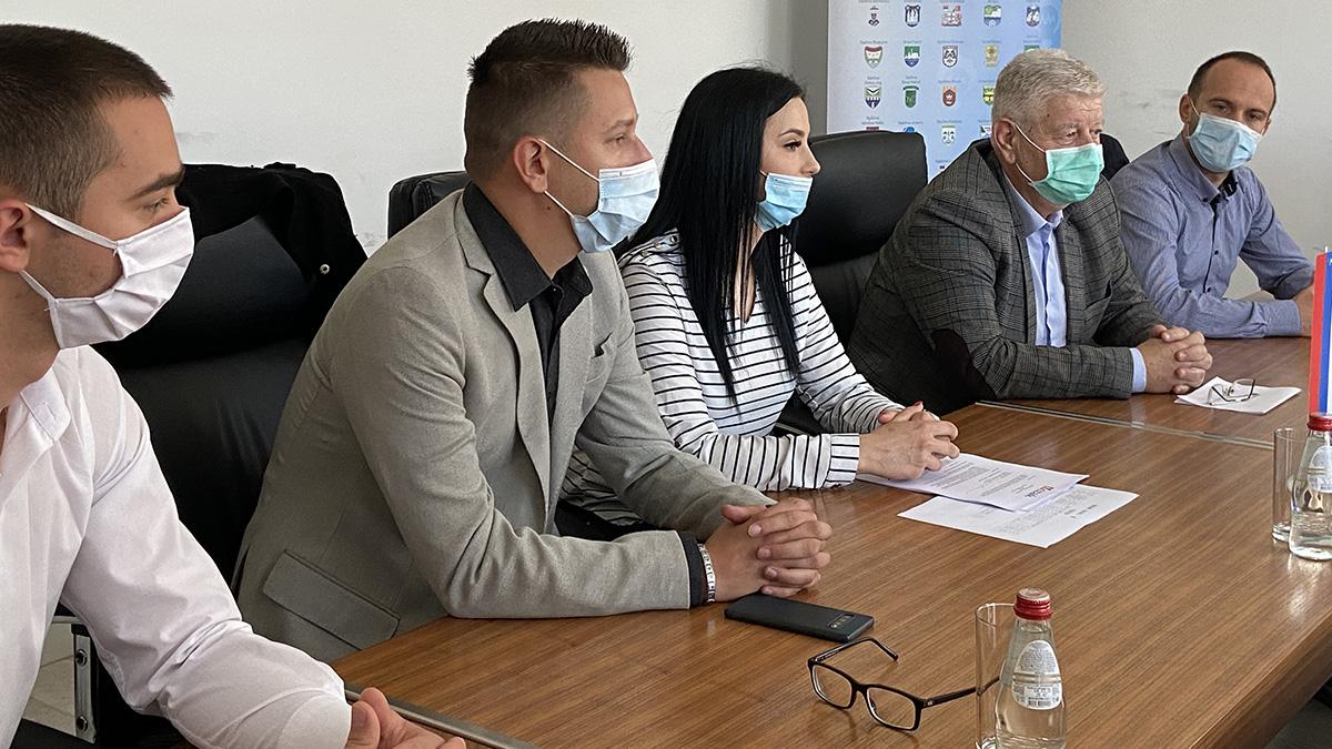 Potpisivanje ugovora Fondacija Mozaik i Gradska uprava Doboj.
